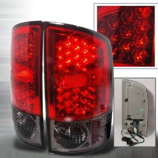 2002 2005 Dodge Ram Led Tail Lights Red Automotive