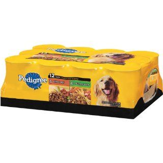 Pedigree Choice Cuts Variety Pack (with Beef, Country Stew) Food for Dogs, 13.2 Ounce Cans (Pack of 24)  Canned Wet Pet Food