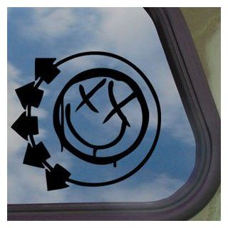 Blink 182 Logo Black Decal Car Truck Bumper Window Sticker   Automotive Decals