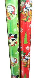 Mickey Mouse Clubhouse ~ Christmas Gift Wrap (2 Rolls) Health & Personal Care
