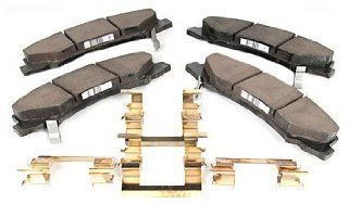 ACDelco 171 0952 OE Service Front Disc Brake Pad Kit Automotive