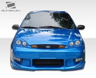 2000 2004 Ford Focus Duraflex Poison Front Bumper Cover   1 Piece Automotive