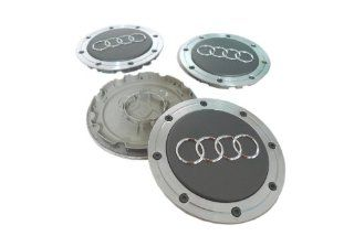 Audi A4 A6 A8 S4 S6 S8 Hubcap Wheel Center Caps 4B0601165A 4B0 601 165 A (Set of 4 pieces) Automotive