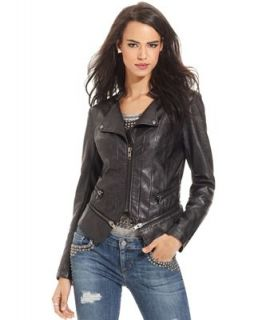 GUESS Faux Leather Jacket   Jackets & Blazers   Women