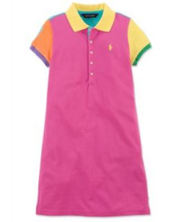Ralph Lauren Girls Dress, Girls Short Sleeve Polo Dress   Kids