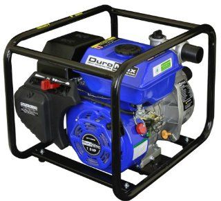 DuroMax XP652WP 2 Inch Intake 7 HP OHV 4 Cycle 158 Gallon Per Minute Gas Powered Portable Water Pump  Sump Pumps  Patio, Lawn & Garden