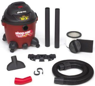 Shop Vac 9601000 10 Gallon 3.5 Peak HP Pump Wet/Dry Vacuum