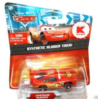 Disney / Pixar CARS Movie Exclusive 155 Die Cast Car with Synthetic Rubber Tires Lightning McQueen Rusteze version Toys & Games