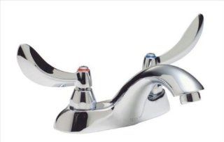 Delta Faucet 21C154 21T Two Handle Centerset Lavatory Faucet with Less Pop Up, Chrome   Touch On Bathroom Sink Faucets