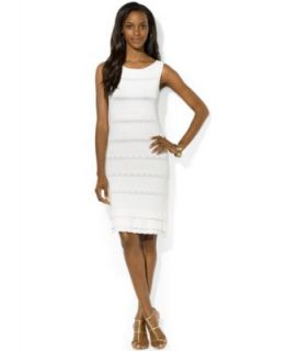 Lauren Ralph Lauren Dress Sleeveless Pointelle Sweater Dress   Dresses   Women