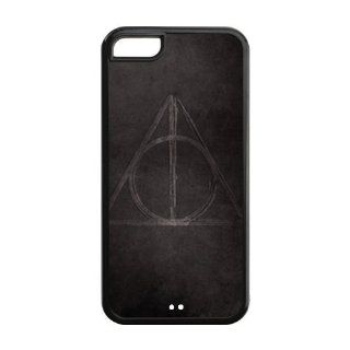 Harry Potter Quotes Design Black Sides TPU Case Protective For Iphone 5c iphone5c NY147 Cell Phones & Accessories