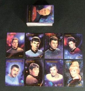 1993 Skybox STAR TREK Master Series Trading Card Set (90) Nm/Mt Entertainment Collectibles