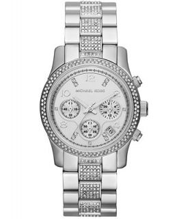 Michael Kors Womens Chronograph Runway Stainless Steel Bracelet Watch 38mm MK5825   Watches   Jewelry & Watches