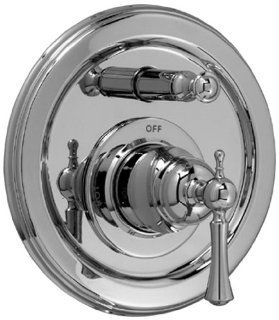 Jado 842546.144 Hatteras Pressure Balance Tub and Shower Diverter Valve Trim with Lever Handle, Brushed Nickel   Single Handle Tub And Shower Faucets