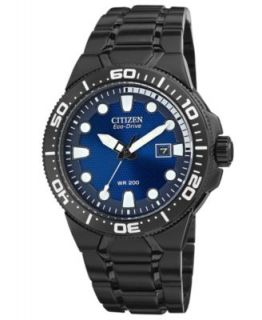 Citizen Mens Eco Drive Scuba Fin Orange and Black Rubber Strap Watch 46mm BN0097 11E   Watches   Jewelry & Watches