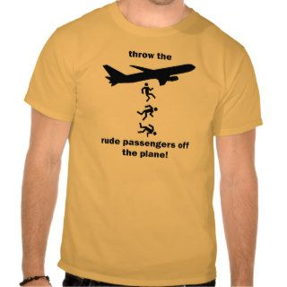 Funny airline rules tees