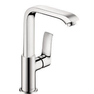 Hansgrohe 31087001 Metris 230 Single Hole Faucet, Chrome   Bathroom Sink Faucets