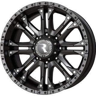 "Raceline Octane Matte Black Wheel (20x9""/6x139.7mm) Automotive"