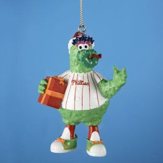 "Club Pack of 12 MLB Philly Phanatic Mascot with Gift Christmas Ornaments 3.25""   Christmas Ball Ornaments"