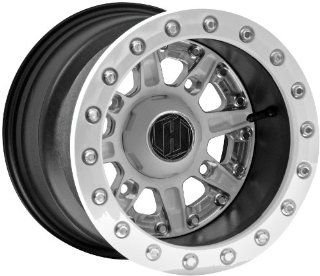 Hiper Wheel Sidewinder 2 Wheels   12x10   5+5 Offset   4/136,4/137   White , Position Front/Rear, Wheel Rim Size 12x10, Rim Offset 5+5, Bolt Pattern 4/136,4/137, Color White 1210 KCAWT 55 SBL WT Automotive