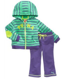 Puma Baby Girls 3 Piece Jacket, Bodysuit & Pants Set   Kids