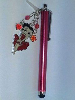 Betty Boop Universal Touch Screen Pen for Ipad 2 Ipod Iphone 4 4S 3g 3gs, 4s,kindle fire,Motorola Xoom, Samsung Galaxy Tab 8.9 10.1, Blackberry Playbook HTC Flyer Evo View Tablet Cell Phones & Accessories