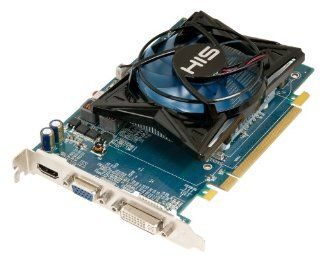 HIS H675FS1G Radeon HD 6750 1GB (128bit) DDR3 DL DVI (HDCP) HDMI VGA PCI Express X16 2.1 Video Card Electronics