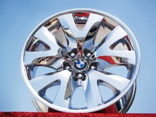 BMW 7 series SportStyle 126 Set of 4 genuine factory 19inch chrome wheels Automotive
