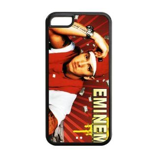 Custom Eminem Back Cover Case for iPhone 5C GC 121 Cell Phones & Accessories