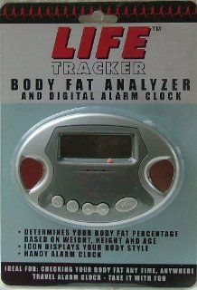 Life Tracker. Body Fat Analyzer Digital Alarm Clock Health & Personal Care