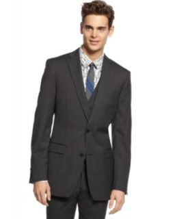 Bar III Suit Separates Dark Charcoal Slim Fit   Suits & Suit Separates   Men