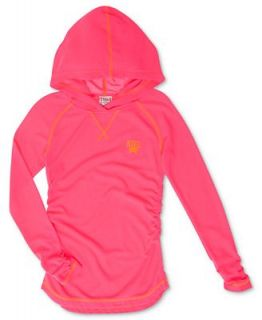 Nike Kids Shirt, Girls Action Hooded Pullover Top   Kids