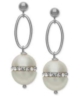 Cultured Freshwater Pearl Chandelier Earrings in Sterling Silver (6mm)   Earrings   Jewelry & Watches