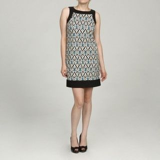 Jessica Howard Petite Blue Patterned Dress Jessica Howard Dresses