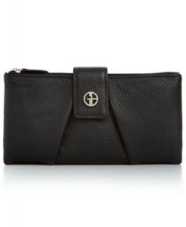 Giani Bernini Wallet, Softy Leather AIO   Handbags & Accessories