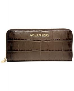 MICHAEL Michael Kors Jet Set Zip Around Continental Wallet   Handbags & Accessories
