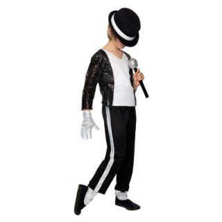 Kids Michael Jackson Billie Jean Costume Size Large Toys & Games