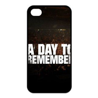 Popular Music Rock Band A Day to Remmember TPU Case Protective Skin For Iphone 4 4s iphone4s NY102 Cell Phones & Accessories