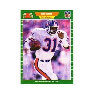 1989 Pro Set #102 Mike Harden Sports Collectibles