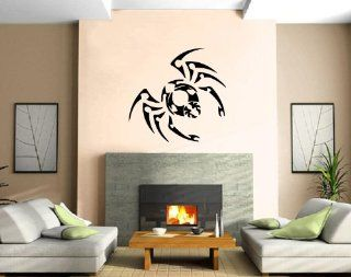 Spider Web Insect Venom Tarantula Tribal Decor Wall Mural Vinyl Art Sticker M389