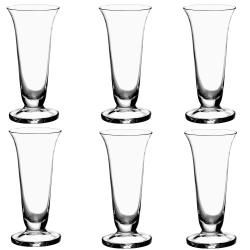 La Rochere Jean Luce Mouth blown Flute Glasses (Set of 6) La Rochere Toasting Flutes