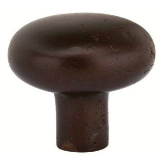 Emtek Sandcast Bronze Round Cabinet Knob   Cabinet And Furniture Knobs