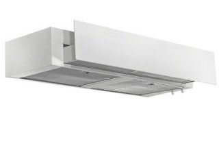 "Imperial G3030SD4 WH White Under Cabinet 430 CFM 30"" Wide Flush Mount Under Cabinet Range Hood with Air Ring Fan with Front Plexi Panel from the G3000 Collection Appliances"