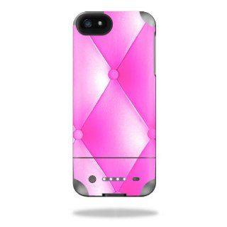 MightySkins Protective Vinyl Skin Decal Cover for Mophie Juice Pack Helium iPhone 5 External Battery Case Sticker Skins Pink Upholstery Cell Phones & Accessories