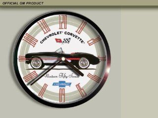 1957 Chevrolet Corvette Wall Clock A001