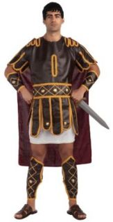 Forum Plus Size Roman Emperor Adult Costume, Red, X Large Clothing