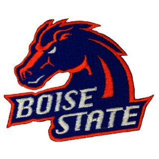 Boise State Broncos Logo Embroidered Iron Patches Sports & Outdoors