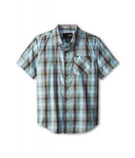Hurley Kids Dalton S/S Woven Boys Short Sleeve Button Up (Multi)