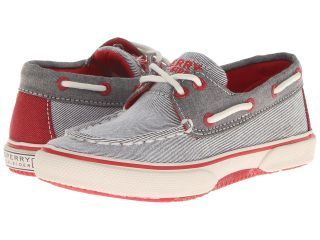 Sperry Top Sider Kids Halyard Boys Shoes (Gray)