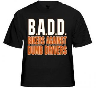 "Biker Shirts   ""Bikers Against Dumb Drivers"" Biker Shirt #B214 (Mens XX Large) Clothing"